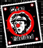 Clown Fidelidad Briefmarke / Logo
