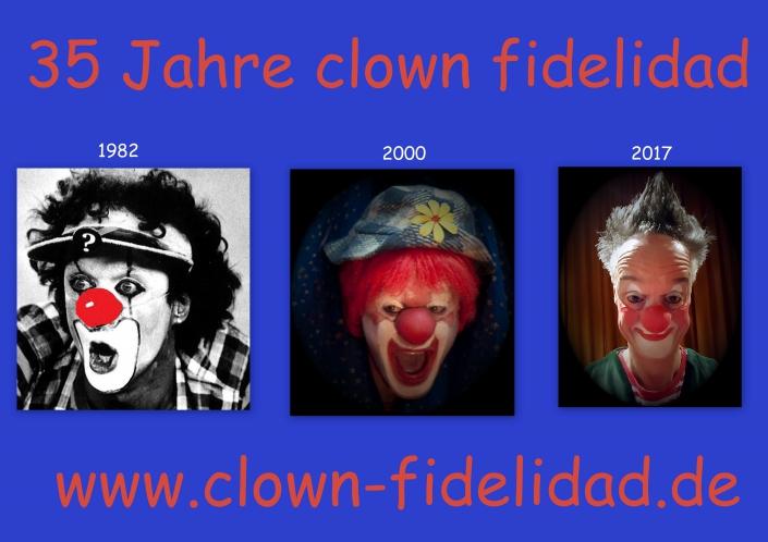 35 Jahre Clown fidelidad