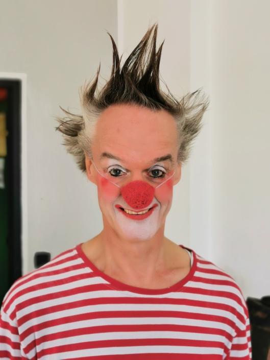 Clown fidelidad bei der NEUBESETZUNGSPREMIERE 2019